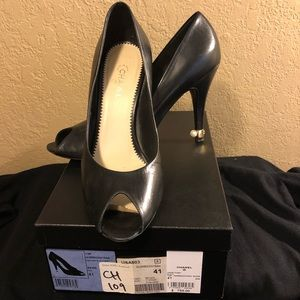 Shoes - Chanel Open Toe Pump